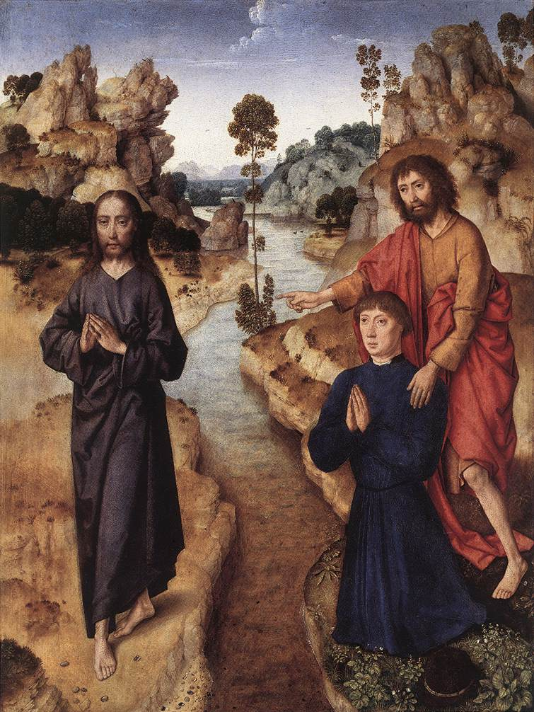 A4 - Behold the Lamb of God - Dieric Bouts the Elder - 1462