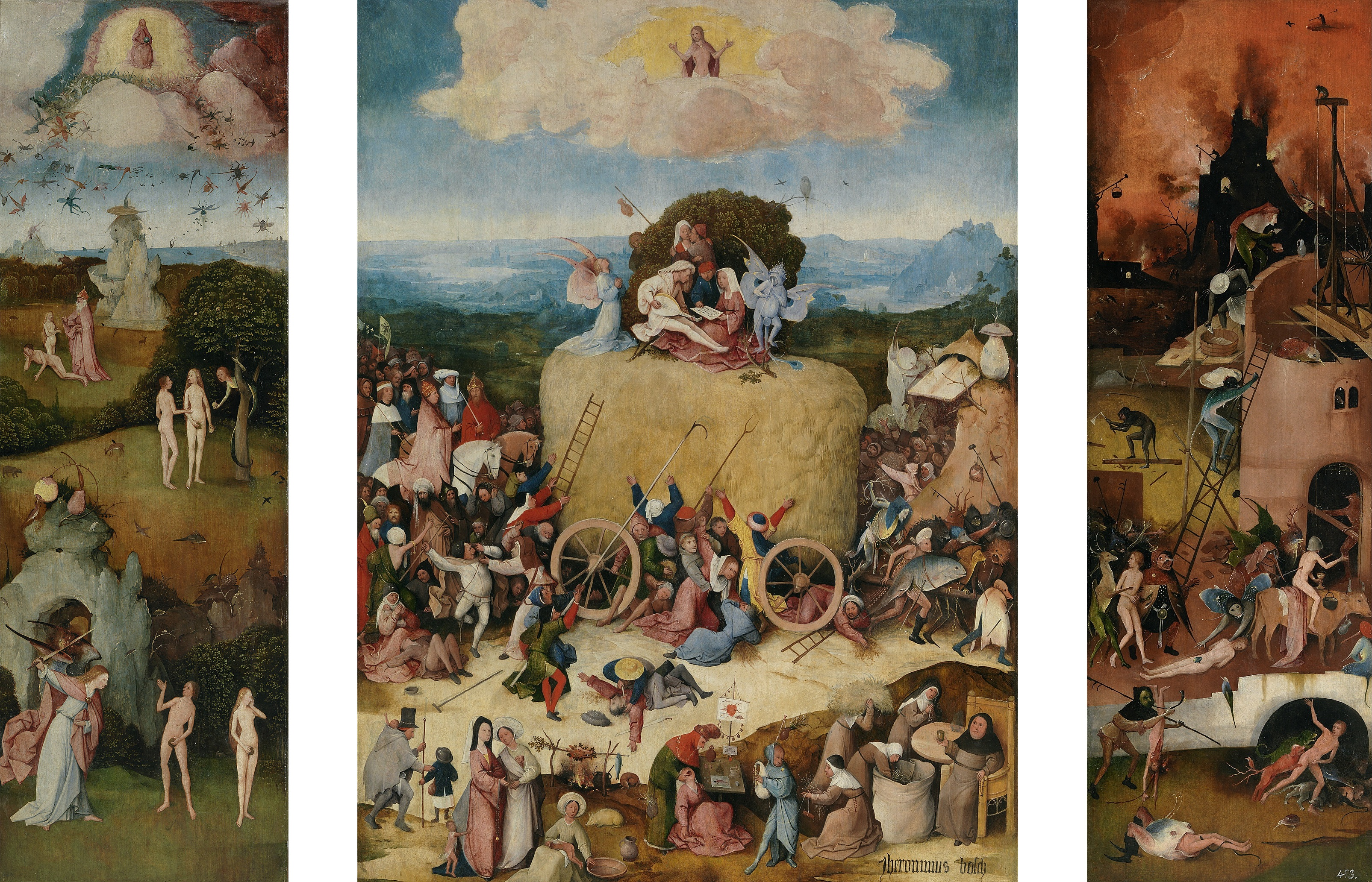 Advent 1 - 2015 The_Hay_Wain_by_Hieronymus_Bosch