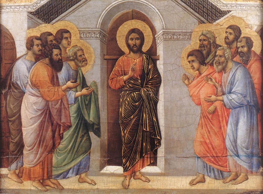 Easter 1 - Duccio di Buoninse - 1308