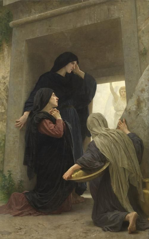 Easter Eve - Three Marys at the Tomb, William Bouguereau2