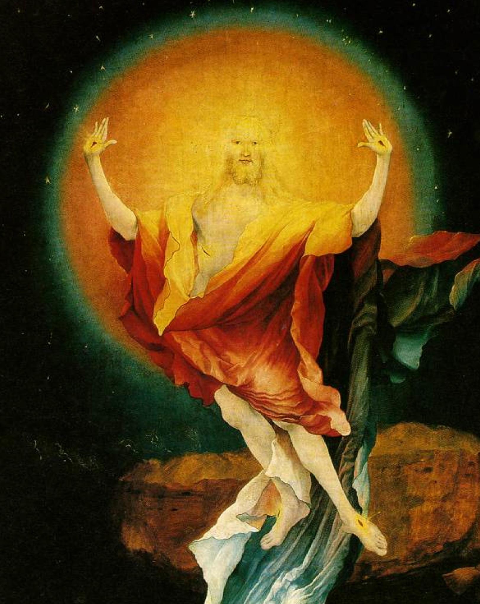 Easter - Grunewald Resurrection