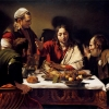 Easter Monday - Caravaggio Supper at Emmaus