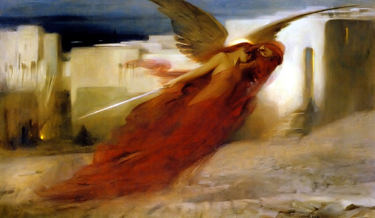 Easter - Passover Angel of Death - Arthur Hacker