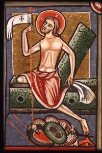 Easter - Psalter - Christ steps out of tomb - Unknown French Master