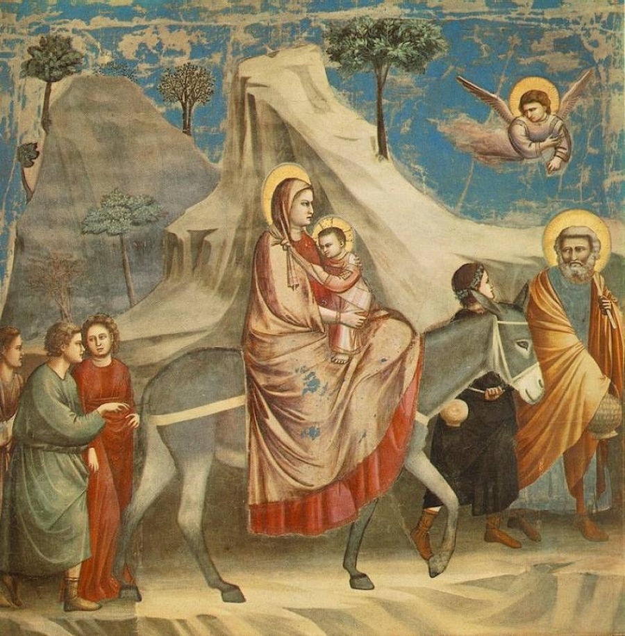 FlighttoEgypt-Giotto