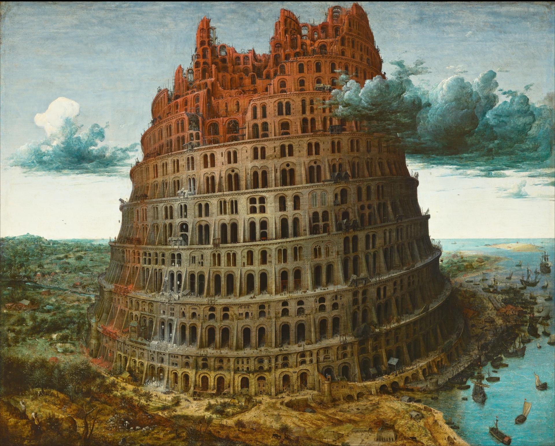 The Tower of Babel, Pieter Bruegel, c 1560