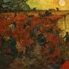 Sept - Van Gogh - The Red Vineyard