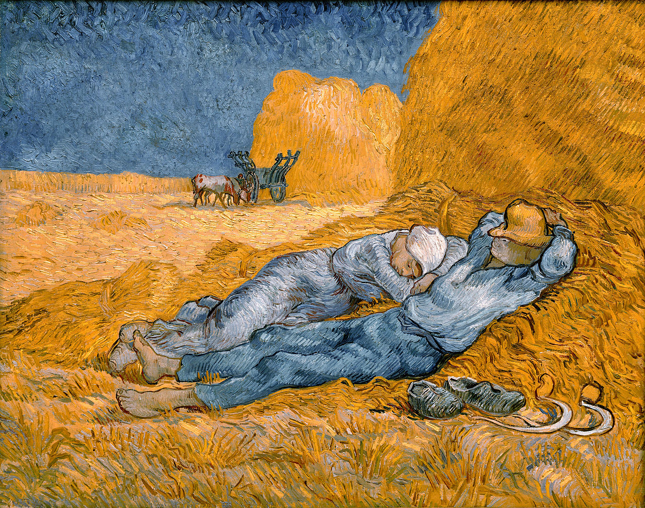 T07 - 1280px-Noon,_rest_from_work_-_Van_Gogh