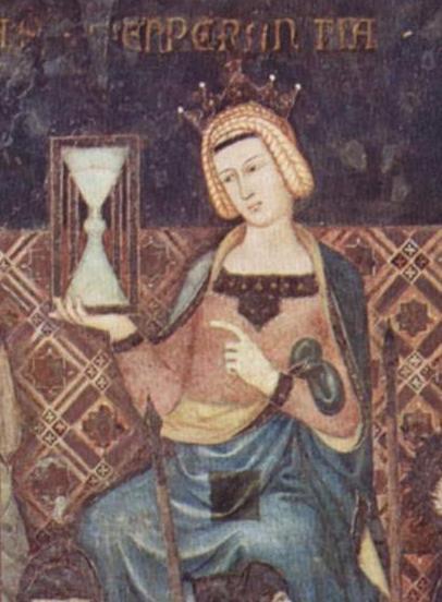 T09 - Temperance - Ambrogio Lorenzetti 14c