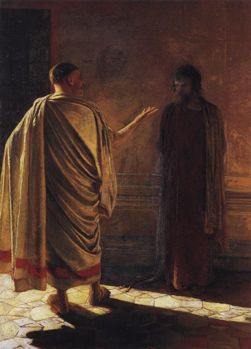 __TrueGlory - Nikolai Nikolajewitsch Ge – What is Truth (Jesus and Pilate) 1890