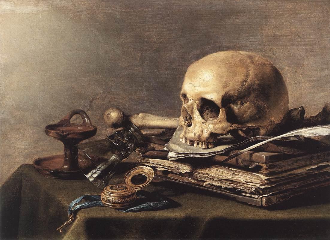 Vanitas - Dutch - Pieter Claesz Vanitas Still-life 1630