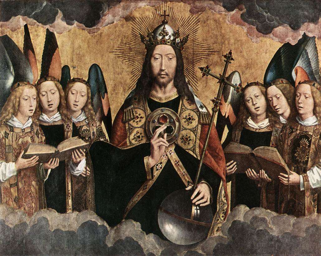 musicsacred-Hans_Memling_-_Christ_Surrounded_by_Musician_Angels_-_WGA14935
